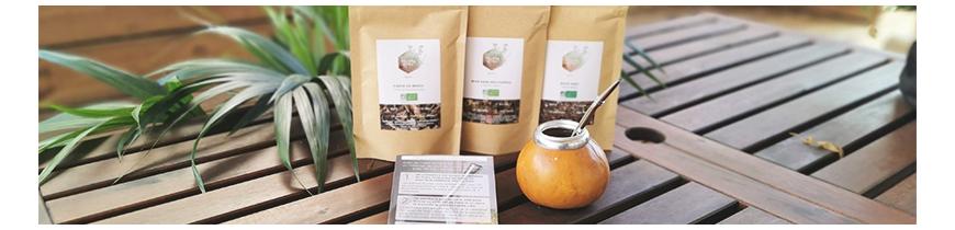 Les matés BIO Colors of Tea, calebasses et coffret